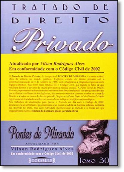 20fc084f93 livro  Tratado de Direito Privado - Tomo 30