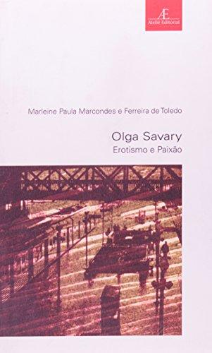 Olga Savary – Erotismo e Paixão, livro de Marleine Paula Marcondes, Ferreira de Toledo