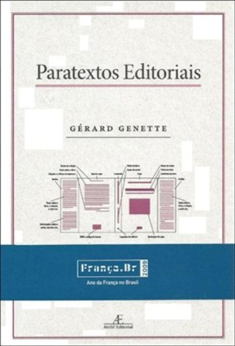Paratextos Editoriais, livro de Gérard Genette