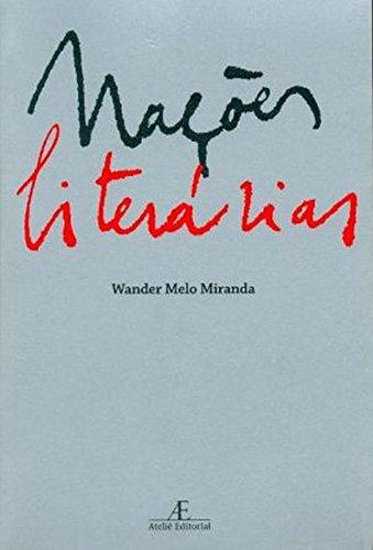 Nações Literárias, livro de Wander Melo Miranda