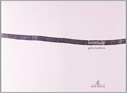 laetitia, sp, livro de Gabriel Pedrosa