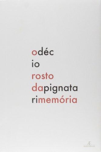 O Rosto da Memória, livro de Décio Pignatari