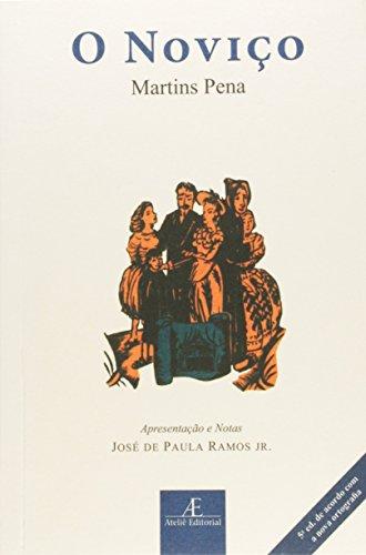Noviço, O, livro de Martins Pena