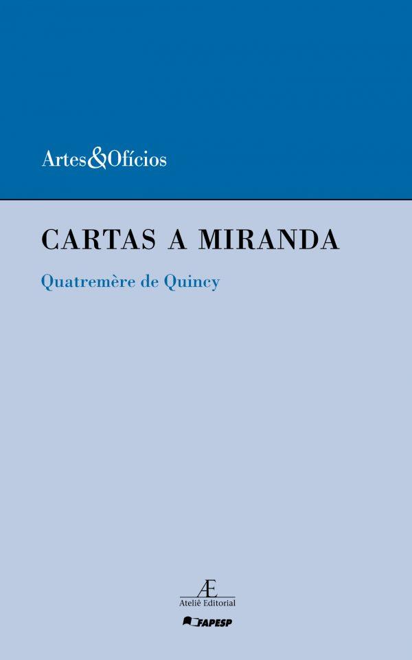 Cartas a Miranda, livro de Quatremère de Quincy