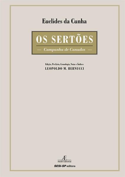 Os Sertões - Campanha de Canudos, livro de Euclides da Cunha