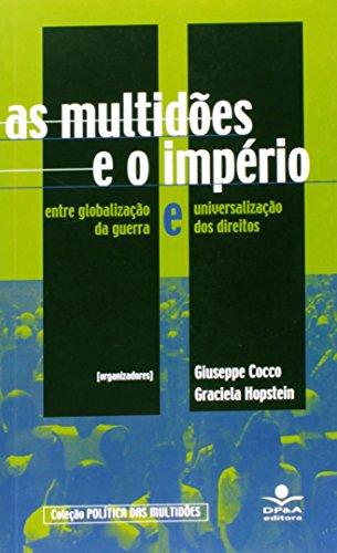 As Multidões e o Império, livro de Giuseppe Cocco, Graciela Hopstein