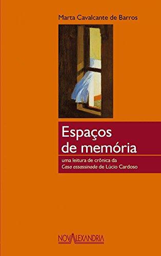 ESPACOS DE MEMORIA, livro de Cavalcante