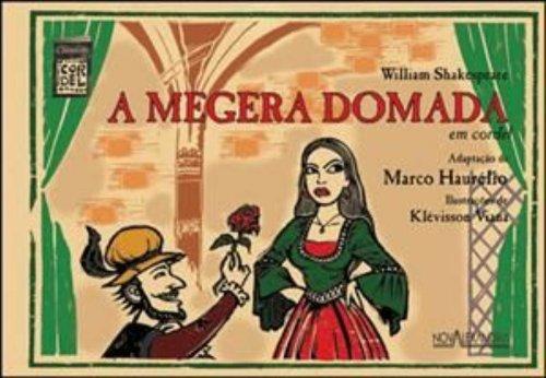 A Megera Domada. Em Cordel, livro de William Shakespeare