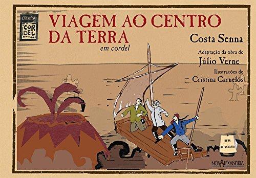 Viagem ao centro da terra: em cordel, livro de Júlio Verne