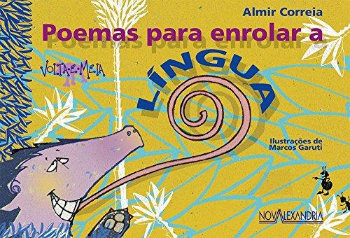 Poemas para enrolar a Língua, livro de Almir Correia