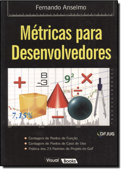Métricas para Desenvolvedores, livro de Fernando Anselmo