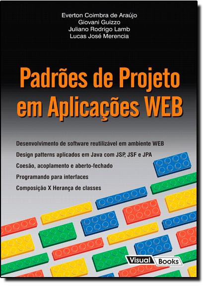 Padrões de Projeto em Aplicações Web, livro de Everton Coimbra de Araújo