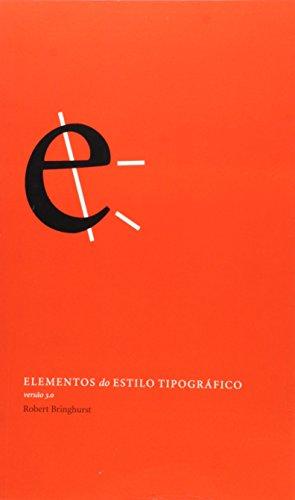Elementos do estilo tipografico - versão 3.0, livro de Robert Bringhurst