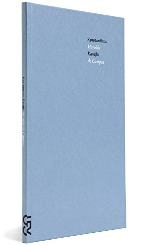 Poemas de Konstantinos Kaváfis, livro de Konstantinos Kaváfis, Haroldo de Campos