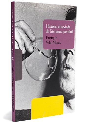 História abreviada da literatura portátil, livro de Enrique Vila-Matas