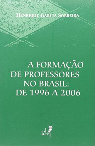 A Formação de Professores no Brasil, livro de Sobreira, Henrique