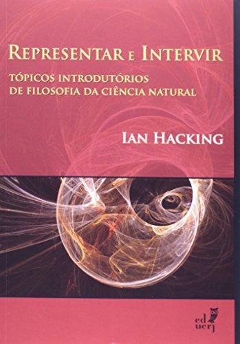 Representar E Intervir, livro de Ian Hacking