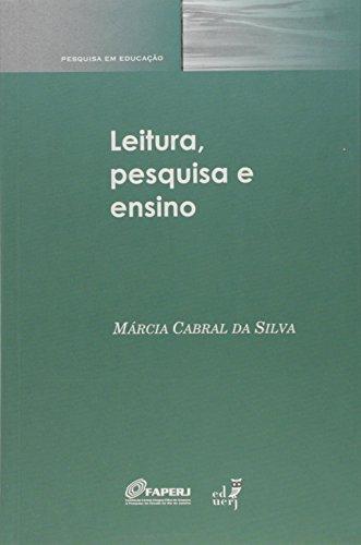 Leitura, Pesquisa e Ensino, livro de Marcia Cabral da Silva