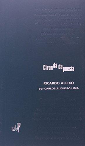 Ciranda Da Poesia. Ricardo Aleixo, livro de Carlos Augusto Lima