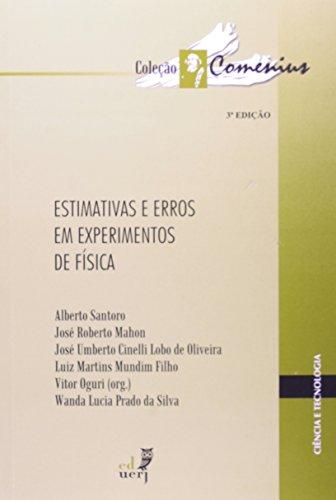 Estimativas e Erros em Experimentos de Física, livro de Alberto Santoro