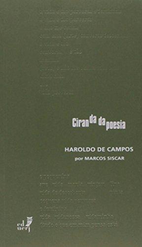 Haroldo de Campos - Coleção Ciranda da Poesia, livro de Marcos Siscar