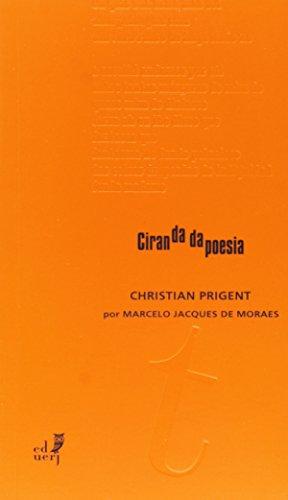 Christian Prigent - Coleção Ciranda da Poesia, livro de Marcelo Jacques de Moraes