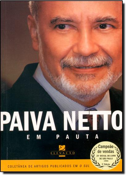Paiva Netto Em Pauta, livro de NETTO, PAIVA