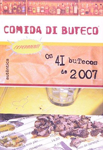 Comida Di Buteco, livro de Zé da Tita, Rusth Marcellini