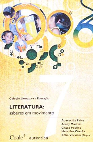 Literatura - Saberes em Movimento, livro de Aparecida Paiva (Org.)