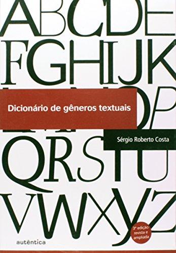 Dicionário de Gêneros Textuais, livro de Sérgio Roberto Costa