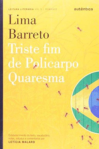 Triste Fim de Policarpo Quaresma, livro de Letícia Mallard