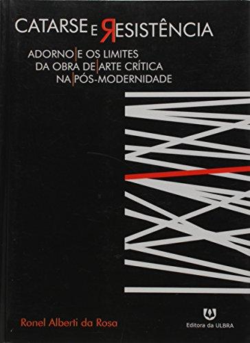 Catarse e Resistência, livro de Ronel Alberti da Rosa