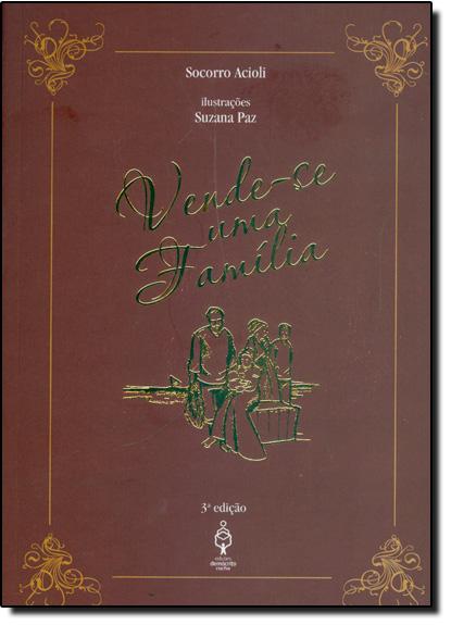 Vende-se uma Família, livro de Socorro Acioli