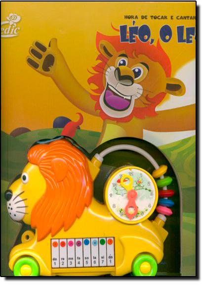 Hora de Tocar e Cantar Com: Leo, O Leão, livro de Editora Cedic