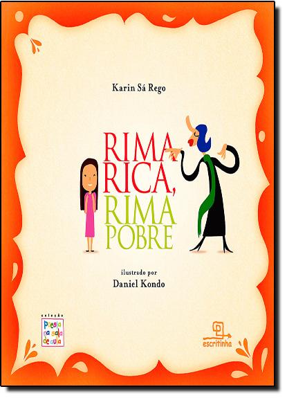 Rima Rica, Rima Pobre, livro de Karin Sá Rego