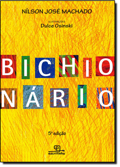 Bichionário, livro de Nílson José Machado