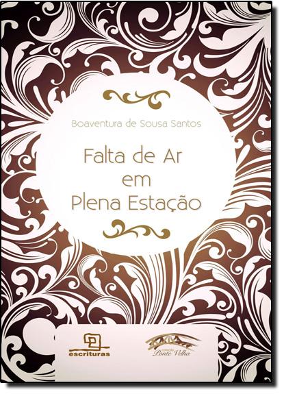 Falta de Ar em Plena Estação, livro de Boaventura de Sousa Santos