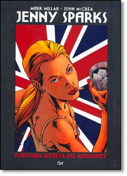 Jenny Sparks: A História Secreta do Authority, livro de Mark Millar