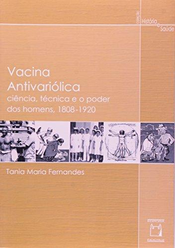 Vacina Antivariólica, livro de Tania Maria Fernandes