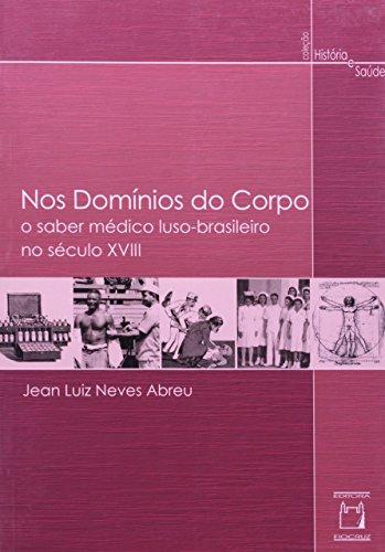 Nos Domínios do Corpo, livro de Jean Luiz Neves Abreu