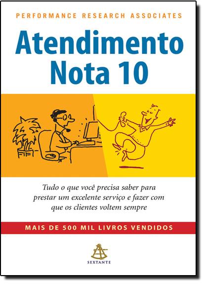 Atendimento Nota 10, livro de Performance Research Associates