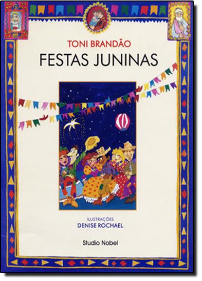Festas Juninas, livro de Toni Brandão