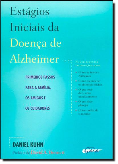 Estágios Iniciais da Doença de Alzheimer, livro de Daniel Kuhn