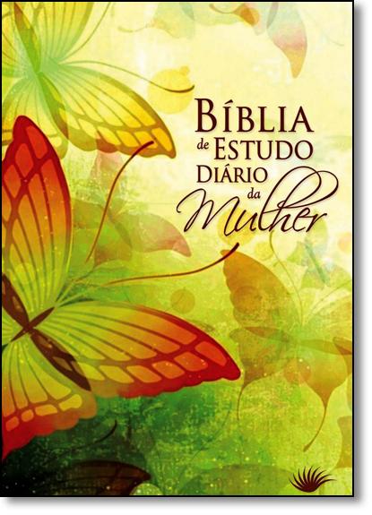 Bíblia de Estudo Diário da Mulher - Capa Borboleta, livro de Edições Holy Bible