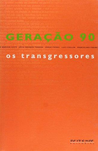 Geração 90: os transgressores, livro de Nelson de Oliveira (org.)