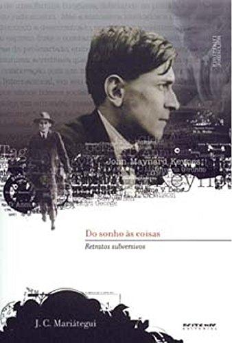 Do sonho às coisas, livro de José Carlos Mariátegui