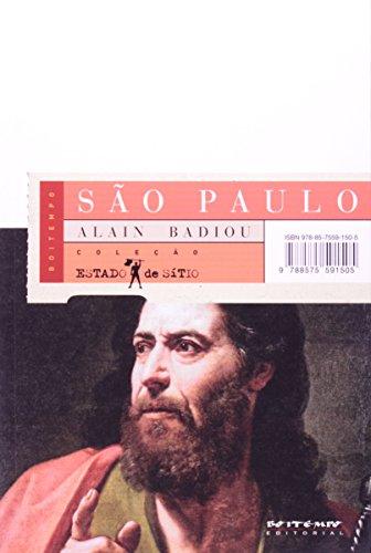 São Paulo , livro de Alain Badiou