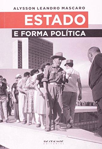 Estado e forma política, livro de Alysson Leandro Mascaro