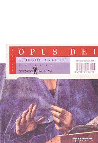 Opus dei, livro de Giorgio Agamben