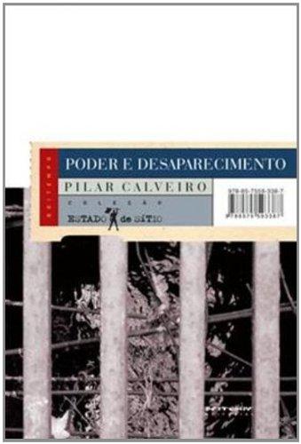 Poder e desaparecimento, livro de Pilar Calveiro